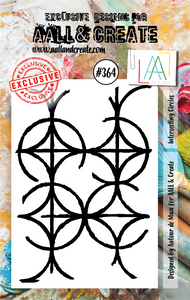 AALL & Create A7 Stamp Set #364 - Intersecting Circles