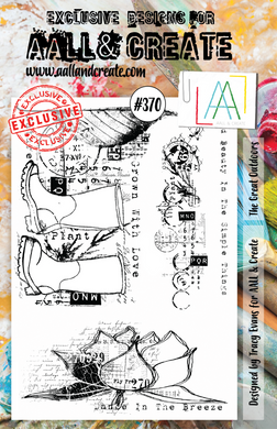 AALL & Create A5 Stamp Set #370 - The Great Outdoors