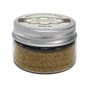 Metallic Micro Beads Gold 50g