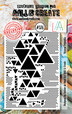 AALL & Create A7 Stamp Set #376 - Reverse Triangles