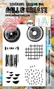 AALL & Create A6 Stamp Set #404 - Visual Ingredients