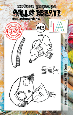AALL & Create A7 Stamp Set #426 - Warm & Cosy