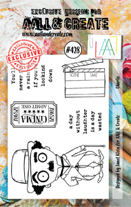 AALL & Create A7 Stamp Set #428 - Charlie