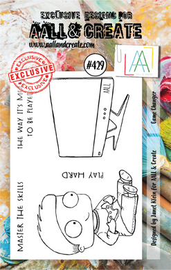 AALL & Create A7 Stamp Set #429 - Game Changer
