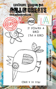 AALL & Create A7 Stamp Set #430 - Free Bird
