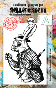 AALL & Create A7 Stamp Set #446 - I'm Late
