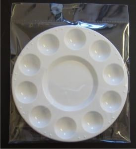 10 Well Plastic Mixing Palette
