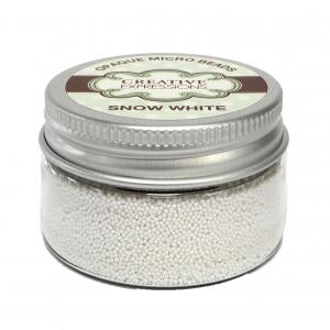 Opaque Micro Beads Snow White 50g