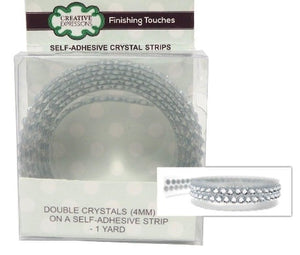 Self Adhesive Strips - Double Crystal