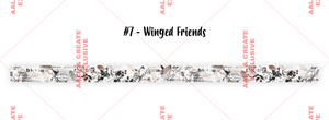 AALL & Create Washi Tape #7- Winged Friends