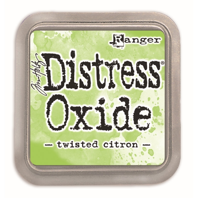 Distress Oxide Ink Pad - Twisted Citron