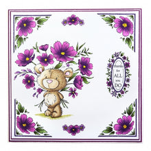 Wild Rose Studio A5 Clear Stamp Set - Milton
