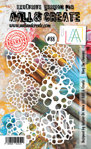 AALL & Create A6 Stencil #88 - Ring The Changes