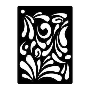 Creative Expressions Mini Stencils - Splash