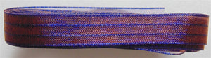 "Sheer Iridescent Ribbon 3/8"" - Violet Bronze 3m"