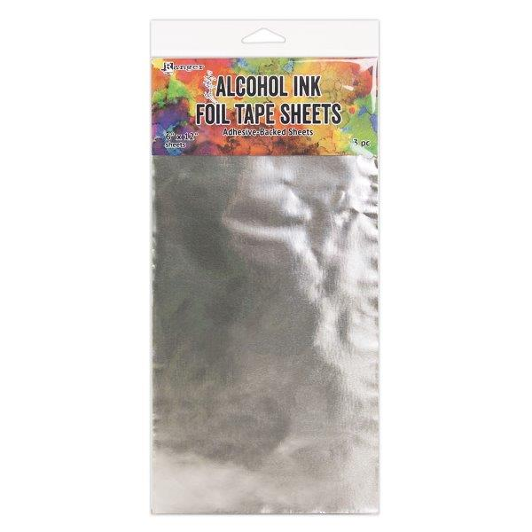 Alcohol Ink Foil Tape Sheets - 6 x 12 Pack of 3