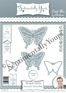 Phill Martin Sentimentally Yours Adornments Collection - Beautiful Butterflies