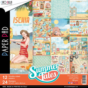 Ciao Bella Summer Tales - 12 x 12 Paper Pack