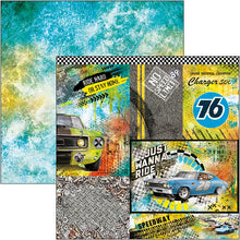 Ciao Bella Start Your Engines - 12 x 12 Paper Pack