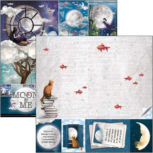 Ciao Bella Moon and Me - 12 x 12 Paper Pack