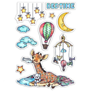 Ciao Bella Stamps - Bedtime