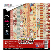 Ciao Bella The Greatest Show - 6 x 6 Paper Pack