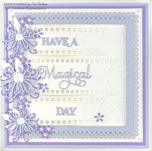 Dies by Sue Wilson Frames & Tags Collection - Decorative Squares