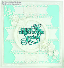 Dies by Sue Wilson Frames & Tags Collection - Decorative Flags