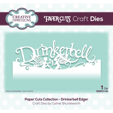 Creative Expressions Paper Cuts Collection - Drinkerbell