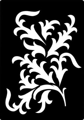 Creative Expressions Mini Stencils - Fancy Vine