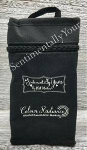 Sentimentally Yours Colour Radiance Canvas Storage Bag