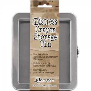 Distress Crayon Storage Tin