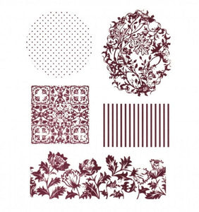 Exchangeable Clear Stamp Set - Foliage