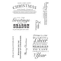 Woodware Clear Magic Single - A Heartfelt Christmas
