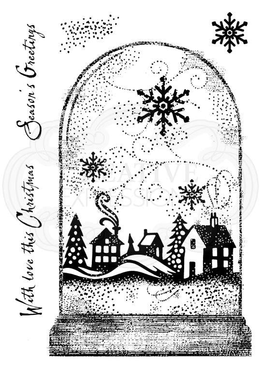 Woodware Clear Magic Single - Snowglobe