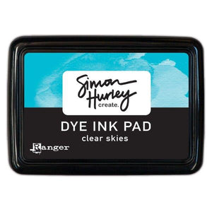 Simon Hurley Create. Dye Ink Pad - Clear Skies