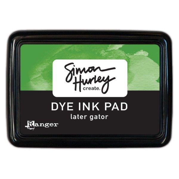 Simon Hurley Create. Dye Ink Pad - Later Gator
