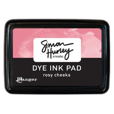 Simon Hurley Create. Dye Ink Pad - Rosy Cheeks