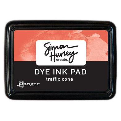 Simon Hurley Create. Dye Ink Pad - Traffic Cone