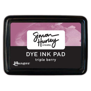Simon Hurley Create. Dye Ink Pad - Triple Berry