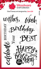 Woodware Clear Magic Single - A Birthday Moment
