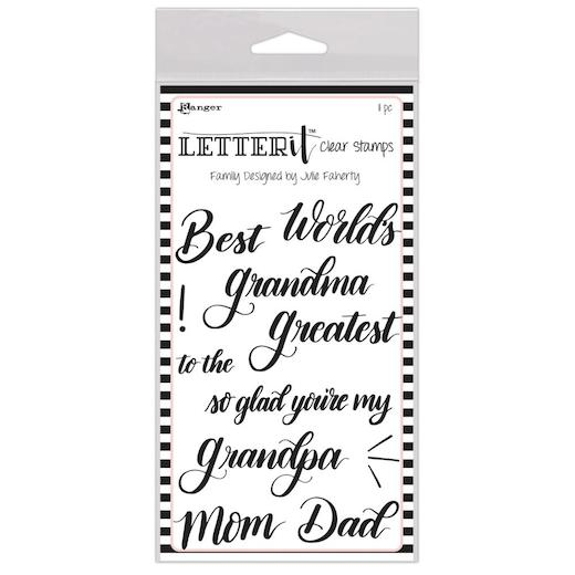 Ranger Letter it Clear Stamps - Family