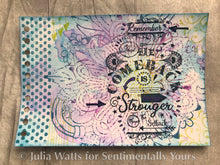 Phill Martin Sentimentally Yours A6 Collection Edition - Life Quotes : Stronger