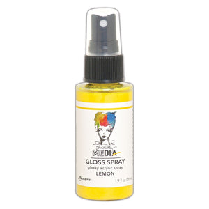 Ranger Dina Wakley Media Gloss Spray - Lemon