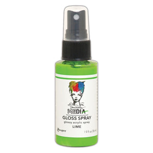 Ranger Dina Wakley Media Gloss Spray - Lime
