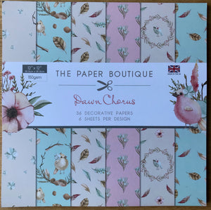 The Paper Boutique Dawn Chorus 12 x 12 Paper Pad