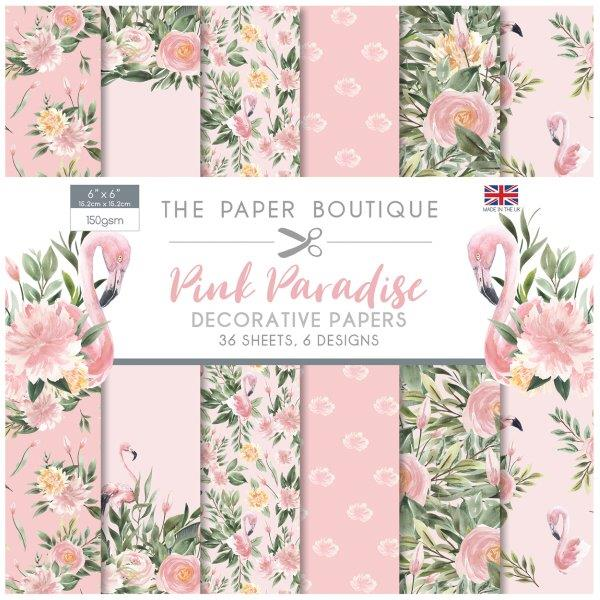 The Paper Boutique Pink Paradise 6 x 6 Paper Pad