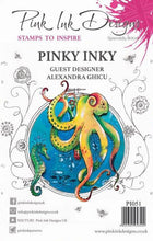 Pink Ink Designs A5 Clear Stamp Set - Pinky Inky