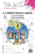 Pink Ink Designs A5 Clear Stamp Set - A Christmas Carol