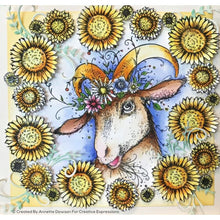 Pink Ink Designs A5 Clear Stamp Set - Goatally Gorgeous